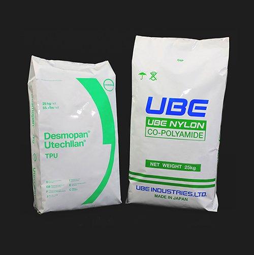 プラスチックフィルム、アルミ箔などの多層素材で張り合わせて構成されます。一方向ガス抜き、真空引き、kシール角底袋、袋底部曲線処理の需要を満たします。食品產業 :コーヒー豆、コーヒー粉、バイオテック原料。工業產業 :工程プラスチック原料、ナイロン複合材料、TPU素材、生物分解性プラスチック。